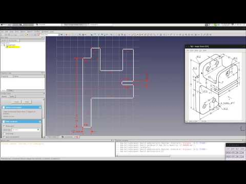 Let's Learn: FreeCAD under 1hr [1] – Basic Sketching and Constaints
