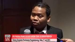 [ video ] KPU Kota Pangkalpinang: Ismiyardi-Abu Bakar Tidak Lengkapi Syarat Pencalonan