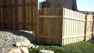 Plymouth Mn Batten Board Privacy Fence 612-281-0558