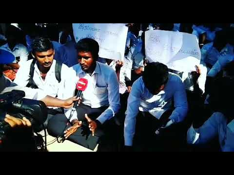 Chennai law college student strike