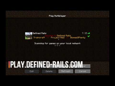 How to get on to Defined Rails via Technic