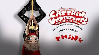 "Adam Lambert covers Aretha Franklin's ""Think"" for Captain Underpant..."