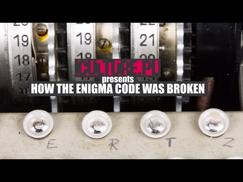 How the Enigma Code Was Broken – Video Explainer