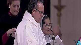 Ceremonia de beatificación de María Emilia Riquelme y Zayas