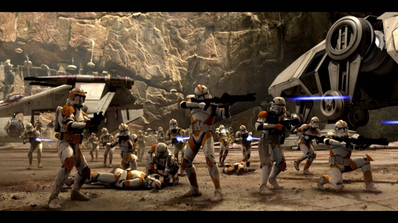 Battle Over Coruscant Ost Hd Extended Version Youtube