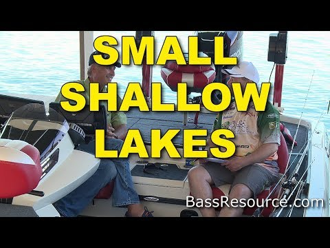 How To Fish Small Shallow Lakes (Proven Tactics That Work!) | Bass Fishing