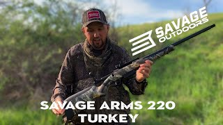 Savage Arms 220 Turkey Breakdown