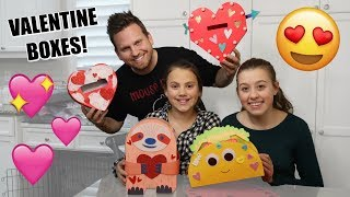 Making Valentine's Day Boxes For School!