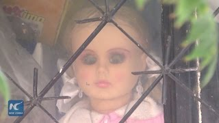 Mexican family preserves baby doll in memory of horror movie and Halloween