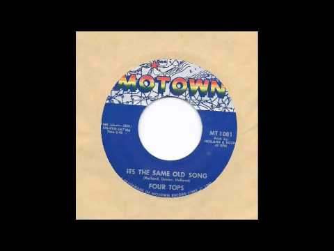Four Tops - It's The Same Old Song 45 rpm!