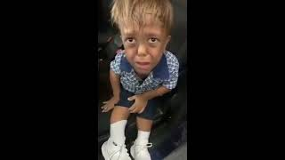 Mother share footage of SON with dwarfism  breaking down after being BULLIED in Brisbane school