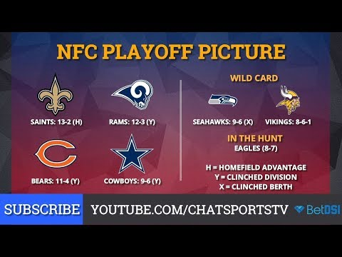 nfl-playoff-picture:-nfc-clinching-scenarios-and-standings-entering-week-17-of-2018