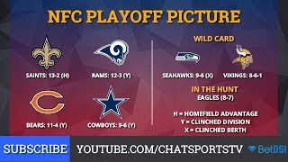 The final nfc playoff picture and schedule is here: https://www./watch?v=i0mbdlr_rqinfc presented by , internet's #1 ! nfl ...