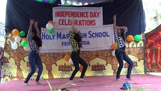 Beautiful dance by class 10 girls during Independence Day 2018 celebrations