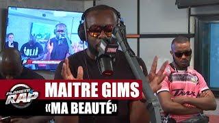 """[EXCLU]Maître Gims """"Ma beauté"""" en live dans Planète Rap !"""