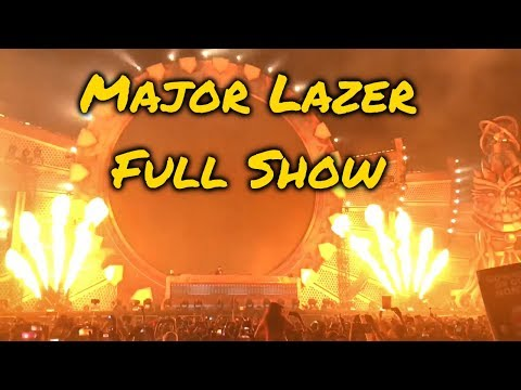Major Lazer [LIVE] @ EDC Mexico 2017 *FULL SHOW*