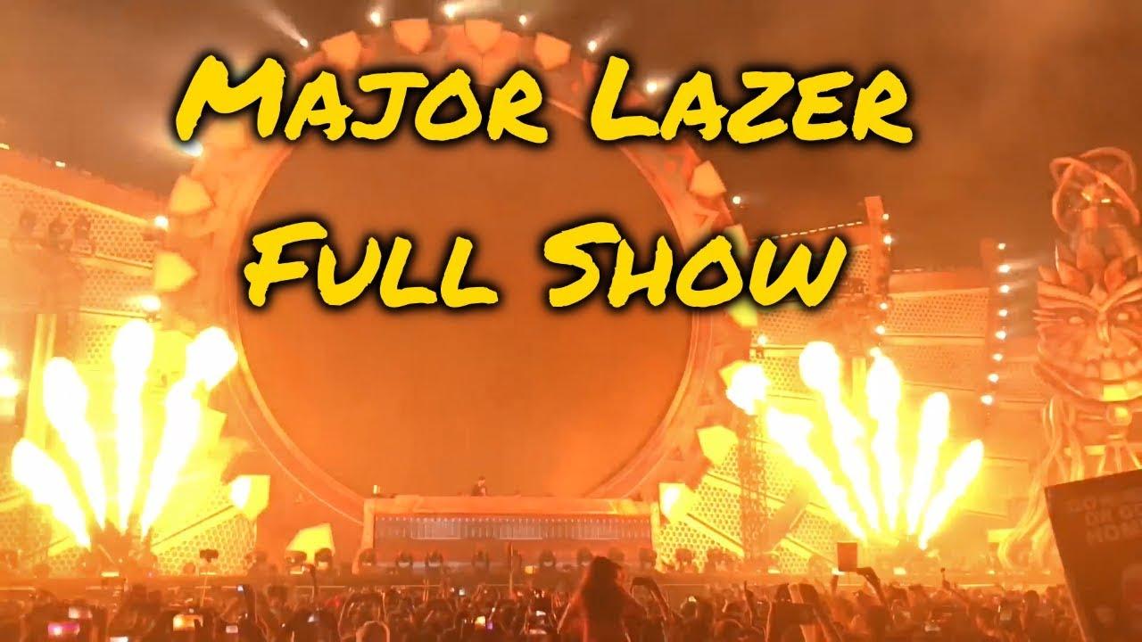 [FULL SHOW] Major Lazer LIVE @ EDC Mexico 2017