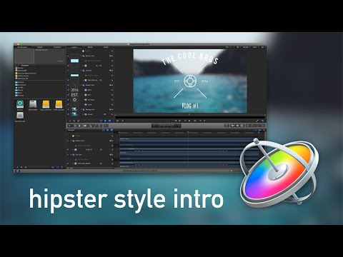 How to Create a Hipster Style Intro in Motion 5!