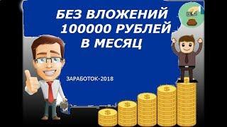 25000 рублей в месяц РЕАЛЬНО заработать в интернете без вложений