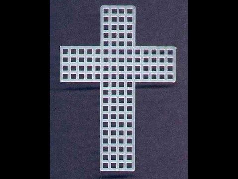 Cross Plastic Canvas Youtube
