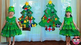 หนูยิ้มหนูแย้ม   ตามหาของตกแต่งต้นคริสต์มาส Christmas Tree