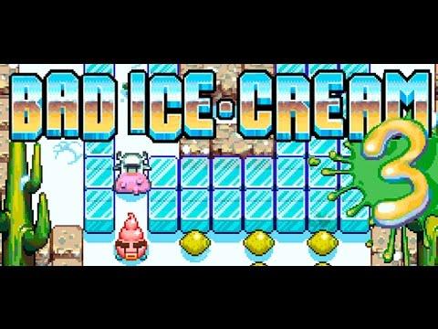 Плохое Мороженое 3 прохождение игры (полное)