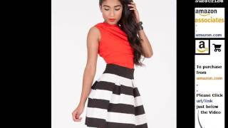 Black And White Striped Skirts |Skirts, Women's Clothing, Clothing Romance