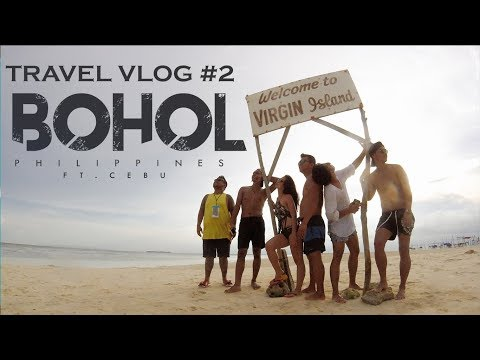 Travel Vlog #2   Bohol, Philippines   WE FOUND LOST TARSIERS IN THE CITY!!!!!!!!!!