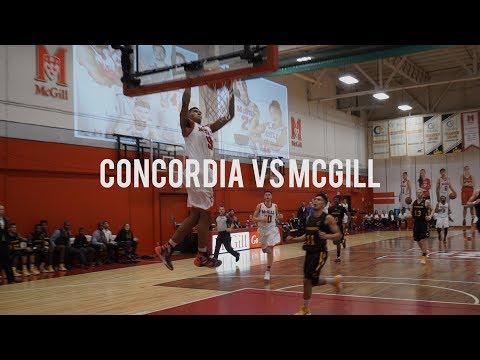 Concordia Stingers Vs McGill Redmen | Full Game Highlight | November 18 2017