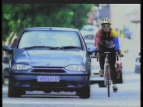 Fiat Bicycle Funny Commercial Youtube