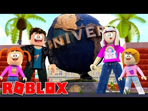 Roblox Family   Goes To Universal Studios!