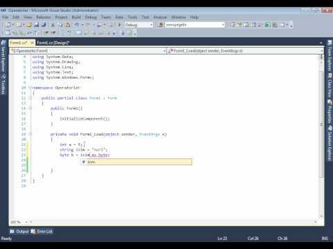 C#-Operatorler(www.KralEgitim.com)