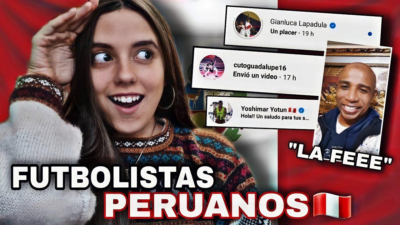 Le escribí a 100 FUTBOLISTAS PERUANOS Y ME RESPONDIERON 😨