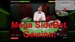 Live BlackJack Casino - Dealer flippt aus wegen SideBet Mega Gewinn!