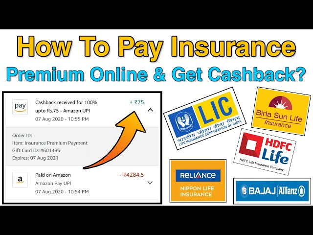 How To Pay Insurance Premium Online & Get Cashback? Pay LIC, Reliance Birla Sun, Bajaj Insurance