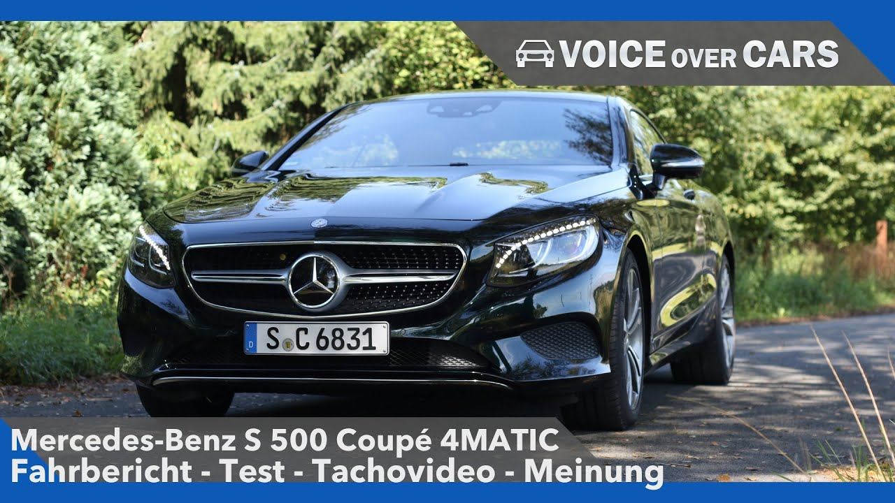 mercedes benz s 500 coup 4matic fahrbericht test review