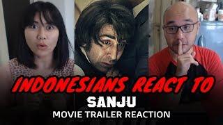 Sanju Official Trailer | Indonesian Reaction