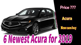 6 Newest Acura for 2019 | The starter luxury sedan finally gets sporty life it needed.