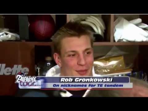 Rob Gronkowski & Aaron Hernandez Come Up With Nicknames