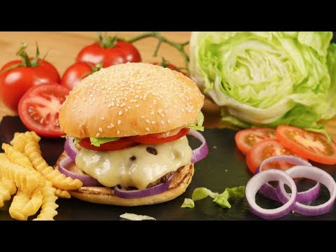 Grilled Cheeseburger mit selbstgemachter Burger-Sauce