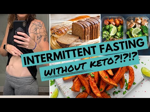Intermittent Fasting WITHOUT Keto?  Is It Possible To Lose Weight?!?!?