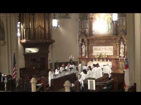 Adoremus in Aeternum and Laudate Dominum (Mozart) - Corpus Christi 2012 @St. John's Detroit
