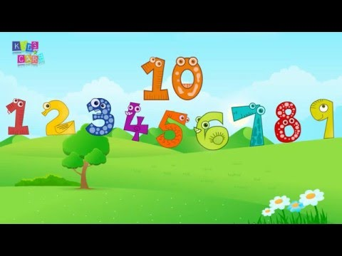 Counting Songs 110 for Children Numbers to Song Kids Kindergarten Toddlers Animal Number 1234