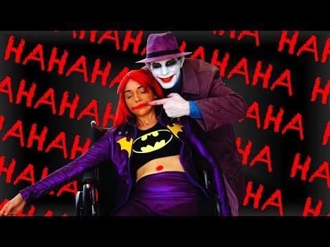 BATMAN: THE KILLING JOKE in Real Life Prank! Featuring Joker & Batgirl