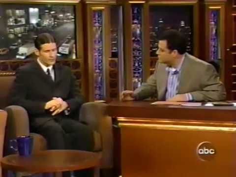 Crispin Glover on Jimmy Kimmel, 2003  ting Charlie's Angels 2