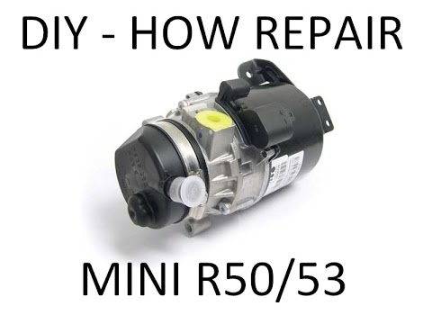 Diy Repair Pump Steering Mini One Cooper R50 R53 Youtube
