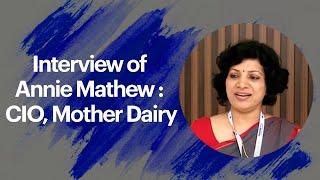 Interview of Annie Mathew   CEO  Mother
