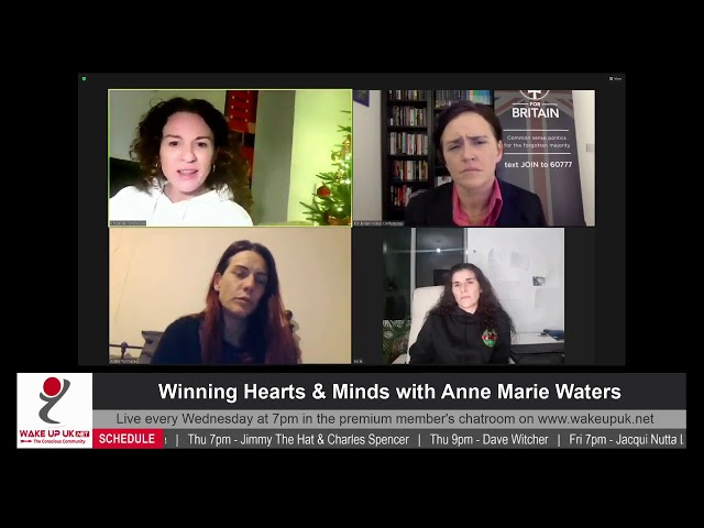 Winning Hearts and Minds with Anne Marie Waters 9th Dec 2020