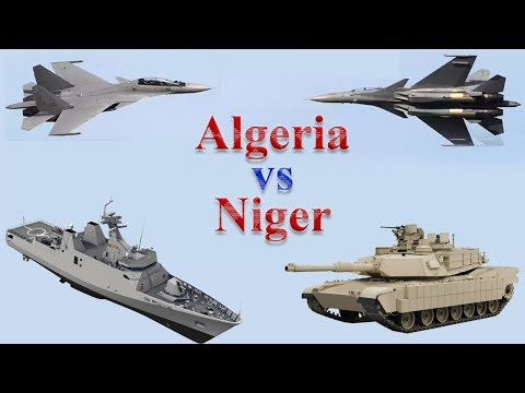 Algeria vs Niger Military Comparison 2017