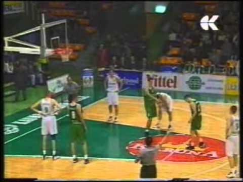Zalgiris Kaunas - Union Olimpija Ljubljana 1999/2000